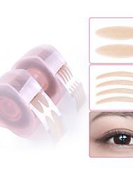 abordables -Paupière Imperméable / Facile à Utiliser / Confortable Maquillage 3 pcs Fibre naturelle Œil / Universel / Soin Maquillage Quotidien / Maquillage d'Halloween / Maquillage de Fête Respirable Longue