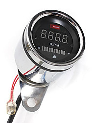 cheap -2 In 1 Motorcycle LED Digital Speedometer Tachometer Oil Fuel Gauge