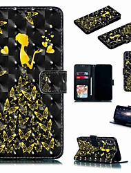 cheap -Case For Apple iPhone XR / iPhone XS Max Flip / with Stand / Shockproof Full Body Cases Sexy Lady / Butterfly Hard PU Leather for iPhone 6 / 6s Plus /7/8 Plus/XS/X