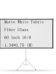 Недорогие -16:9 60 дюймовый Стекловолокно Экран на штативе