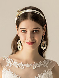 cheap -Imitation Pearl / Alloy Headbands / Headdress / Hair Accessory with Imitation Pearl 1 pc Wedding / Party / Evening Headpiece