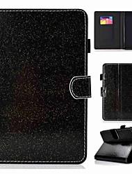 Недорогие -Кейс для Назначение Amazon Kindle Lite (2019) Бумажник для карт / Защита от удара / Флип Чехол Однотонный / Сияние и блеск Твердый Кожа PU
