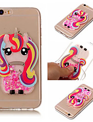 cheap -iPhone 5/5S/SE/6/6S/6 Plus/6S Plus/7/7 Plus/ 8/8 Plus /X/XS Phone Case Unicorn Design Fashion Shockproof Case