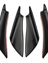 Недорогие -4шт Автомобиль Отделка передней решетки автомобиля Общий Тип пасты для Передний бампер автомобиля Назначение Универсальный Все модели Все года