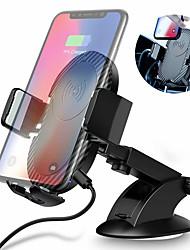 abordables -Raxfly voiture chargeur sans fil prise d'air chargeur 5v2a support de voiture de téléphone mobile rotation de 360 degrés pour 4-7 pouces téléphone mobile