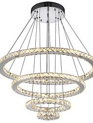 cheap -1-Light LED Crystal Chandeliers Modern Pendant Lights Indoor Lamp Hanging Ceiling Lighting Cristal Suspensions Lamps Fixtures for Living Room Hotel  110-120V / 220-240V
