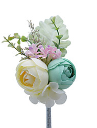 "cheap -Wedding Flowers Boutonnieres Wedding / Special Occasion Other Material 5.91""(Approx.15cm)"