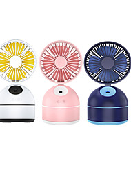 cheap -1PC Creative Usb Charging Spray Fan Mini Office Desktop Water Humidifier Fan Beauty Moisturizer Fan