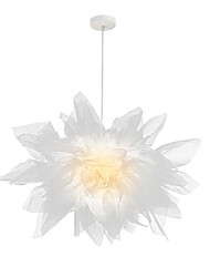 cheap -1-Light OYLYW 68 cm Lovely Pendant Light Fabric Nature Inspired / Chic & Modern 110-120V / 220-240V