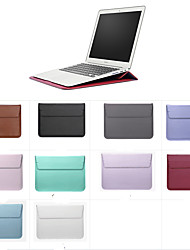 "cheap -Sleeves Solid Colored PU Leather for MacBook 12'' / New MacBook Pro 15-inch / New MacBook Air 13"" 2018"
