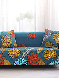 cheap -Sofa Cover High Stretch Flower Printed Combinatorial Soft Elastic Polyester Slipcovers