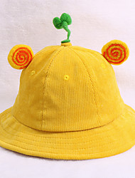 cheap -Kids Unisex Basic Solid Colored / Letter Hats & Caps Blushing Pink / Purple / Yellow One-Size
