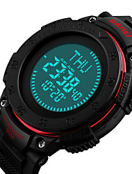 cheap -SKMEI®1236 Men Women Smartwatch Android iOS WIFI Waterproof Sports Long Standby Smart Stopwatch Alarm Clock Chronograph Calendar Dual Time Zones