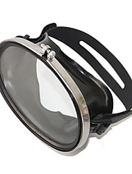 cheap -Diving Mask Leak-Proof Waterproof Anti Fog Single Window - Diving Snorkeling Scuba Silicone - For Adults Black