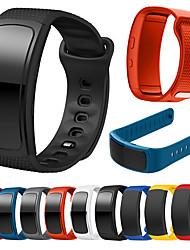 abordables -Bracelet de Montre  pour Gear Fit Pro / Gear Fit 2 Samsung Galaxy Bracelet Sport Silikon Sangle de Poignet