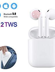 Недорогие -мини i12 tws правда беспроводные наушники bluetooth 5.0 наушники с сенсорным управлением наушники 3d объемный звук