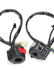 Недорогие -7/8-дюймовый мотоцикл ATV руль электрический стартовый выключатель сигнал поворота фар