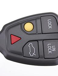 Недорогие -автомобильный Автомобильная цепочка ключей Брелоки Деловые Пластиковый корпус Назначение Volvo 2001 / 2002 / 2003 S90 / V70 / S70 Cool