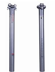 cheap -Carbon Fiber Bike Seatpost 31.6 30.8 27.2 mm 22.2 mm 350 400 mm Road Bike Mountain Bike MTB TT Cycling 3K Matt Black Carbon Fiber