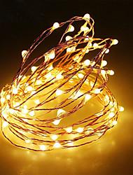 Недорогие -2м Гирлянды 20 светодиоды SMD 0603 1шт Тёплый белый / RGB / Белый Рождество / Новый год Водонепроницаемый / USB / Для вечеринок Работает от USB