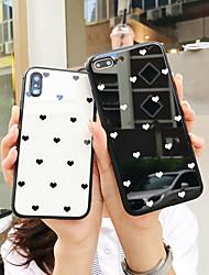 Недорогие -чехол для apple iphone xr / iphone x противоударная задняя крышка из сплошного мягкого пластика для iphone 6 / iphone 6 plus / iphone 7