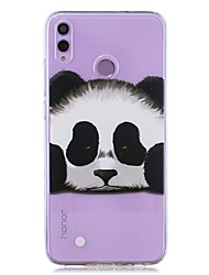 cheap -Case For Huawei Honor 8X / Huawei P Smart (2019) Pattern / Transparent Back Cover Panda Soft TPU for Mate20 Lite / Mate10 Lite / Y6 (2018) / P20 Lite / Nova 3i / P Smart / P20 Pro