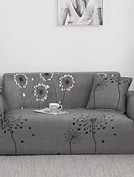 cheap -Stretch Sofa Cover 1Piece Slipcovers Cheap Couch Cover Dandelion Pattern Armchair Loveseat Replacement Soft Furniture Protector