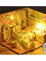abordables -Modèles d'Exposition Kit de Maquette Cadeau Créatif Fabrication à la main Meuble Maison Anniversaire Plastique En bois Classique Unisexe Fille Jouet Cadeau