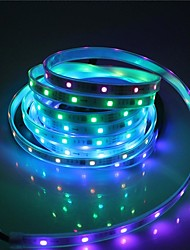 cheap -5M LED Light Strips Flexible Tiktok Lights SMD5050 10mm 300LED Casing Waterproof Light Bar 21 Key Infrared Controller With 5A Power Supply White
