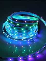 cheap -BRELONG 5M LED Light Strips Flexible Tiktok Lights SMD5050 10mm 300LED Casing Waterproof Light Bar 21 Key Infrared Controller With 5A Power Supply White