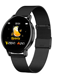 cheap -Smartwatch Digital Modern Style Sporty 30 m Water Resistant / Waterproof Heart Rate Monitor Bluetooth Digital Casual Outdoor - Black Silver