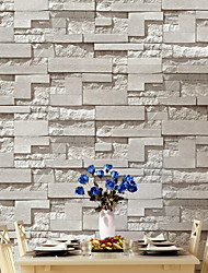 cheap -Wallpaper Nonwoven Wall Covering Adhesive Required Brick 950*53 cm