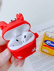 cheap -AirPods Case RingHolder Shockproof Cartoon Pattern Protective Cover  Soft Silicone Portable TPU Compatible with Apple AirPods 2 & 1(AirPods Charging Case not included)