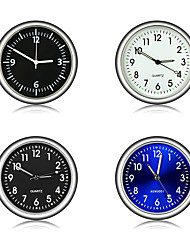 cheap -Car Ornament Automotive Clock Auto Watch Automobiles Interior Decoration Stick-On Clock Ornaments Accessories
