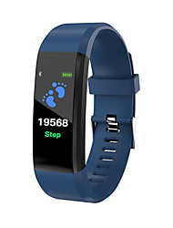cheap -ID115 PLUS Smart Wristband Bluetooth Fitness Tracker Support Notify/ Heart Rate Monitor Waterproof Sports Smartwatch Compatible Samsung/ Android/iPhone