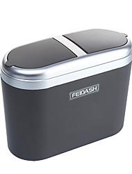 cheap -Car Storage Portable Convenient Durable Trash Can Car Storage 0.8L