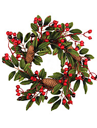 cheap -Holiday Decorations Holidays & Greeting Decorative Objects Decorative Red 1pc