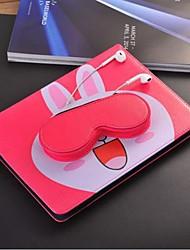Недорогие -чехол для apple ipad mini 3/2/1 / ipad (2018) авто сна / пробуждение чехлы для тела мультфильм / кошка жесткий холст для ipad 2/3/4 / ipad (2017) / ipad pro 9.7 '/ ipad air / Ipad Air 2 / Ipad Mini 4