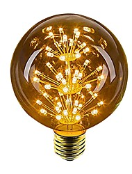 cheap -1pc 2.5 W 100 lm E26 / E27 LED Globe Bulbs 49 LED Beads Dip LED Decorative Yellow 220-240 V / 1 pc / RoHS