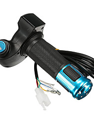 Недорогие -Руль сжатия дросселя 24v 36v 48v электрический ebike электрический вел цифровой метр