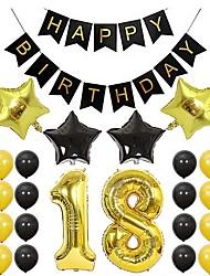 cheap -Holiday Decorations Holidays & Greeting Birthday Novelty Gold 1pc