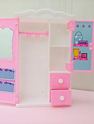 abordables -Poupée Barbie Armoire Baby Doll et robes Onze