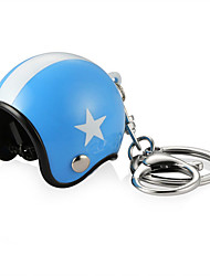 cheap -3D Car Motorcycle Motor Bicycle Crash Helmet Key Fob Chain Ring Keychain