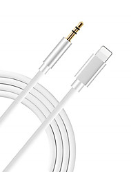 cheap -8pin to 3.5mm Jack Audio Cable for iPhone