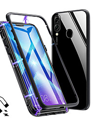 cheap -Magneto Magnetic Adsorption Metal Glass Case for Huawei Honor 8X Back Cases Cover for Huawei Honor 10