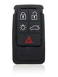cheap -5 Buttons Remote Key Rubber Pad Replacement For Volvo S60 S80 XC70 XC90