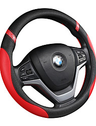 cheap -Car steering wheel cover leather steering wheel cover men and women four seasons universal non-slip handle cover/Steering Wheel Covers