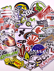 cheap -40pcs Mixed funny brand DIY Sexy stickers for Home decor laptop sticker decal fridge skateboard doodle Car Motorcycle Bicycle