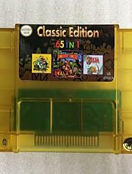 Недорогие -версия для США супер 65 в 1 snes-multi 16-битный картридж с видеоиграми 31 игра может сэкономить заряд батареи для игровой приставки snes
