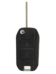 cheap -2 Button Folding Remote Flip Key Case Shell Fob For Peugeot 407 607 307 308 405